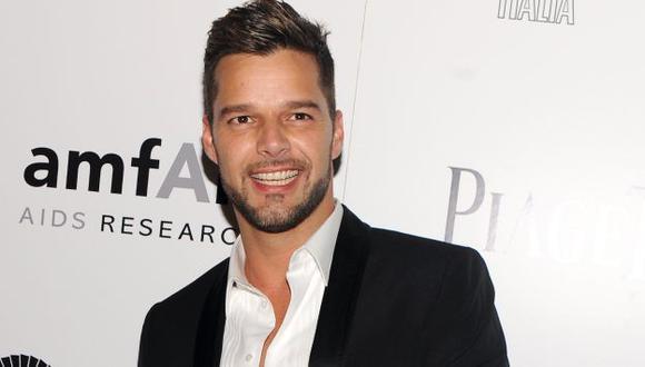 Ricky Martin elogida a nadador Ian Thorpe por salir del clóset. (AP)