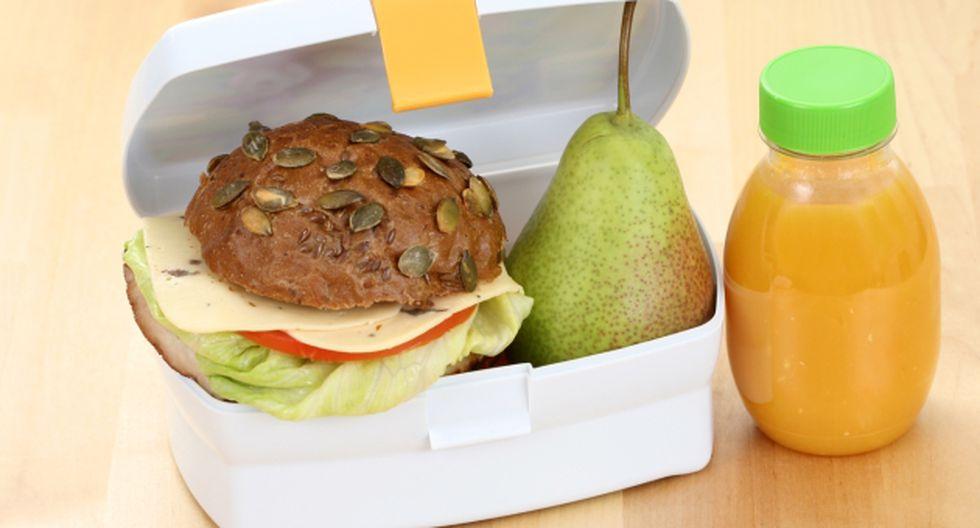 Loncheras escolares puede ser ricas y nutritivas. (USI)