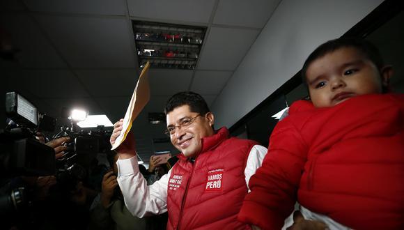Roberto Gómez Baca postula por Vamos Perú. (Piko Tamashiro)