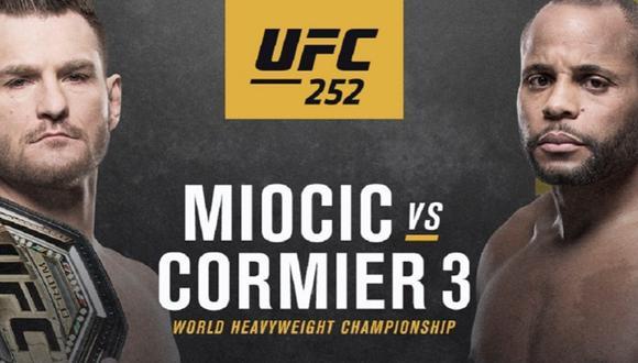 Miocic y Cormier se enfrentan por tercera vez. (Foto: UFC)