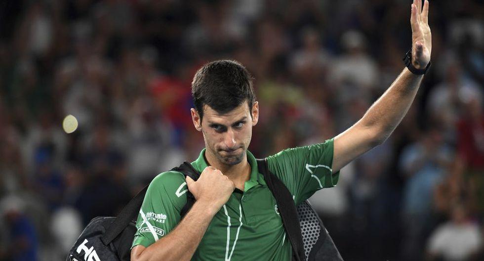 Novak Djokovic es el actual líder del ránking ATP. (Foto: AFP)