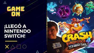 Crash 4 llegó a Nintendo Switch