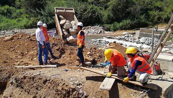 Se destinan recursos para financiar obras del proceso de reconstrucción. (Foto: GEC)