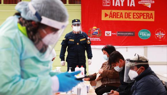 Moquegua: anuncian que en dos semanas llegará una planta de oxígeno a Ilo (Foto: Mindef)