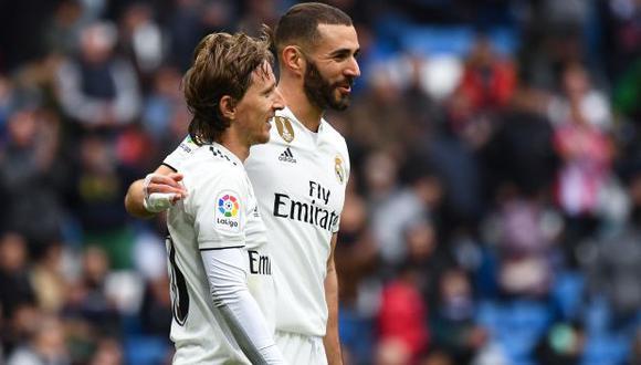Real Madrid vs. Athletic Bilbao: chocan por la fecha 18 de LaLiga Santander. (Foto: AFP)