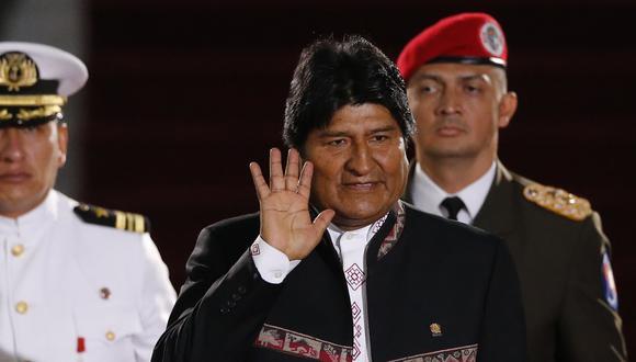 Evo Morales postulará a un cuarto mandato pese a que la Constitución lo prohíbe y un referéndum se pronunció en contra de una habilitación (AP).