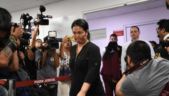 Keiko Fujimori cumplía 15 meses de prisión preventiva en el penal Anexo de Mujeres de Chorrillos. (Foto: GEC)