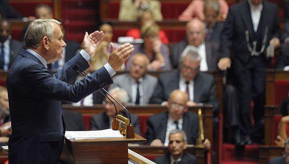 Ayrault se dirigió a la Asamblea Nacional. (Reuters)
