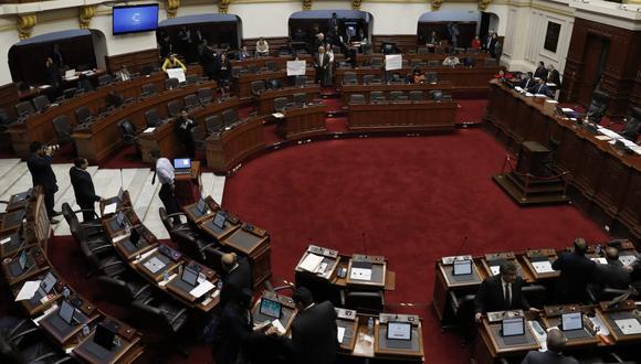 Este jueves luego de un prolongado debate, el Parlamento concluyó el debate y votación de los seis proyectos de reforma política vinculados a una cuestión de confianza por el Ejecutivo a inicios de junio. (Foto: GEC)