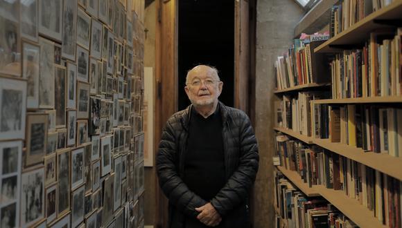 Frederick Cooper Llosa es fundador de la revista Arkinka. Fotos: LEANDRO BRITTO RAMIREZ.