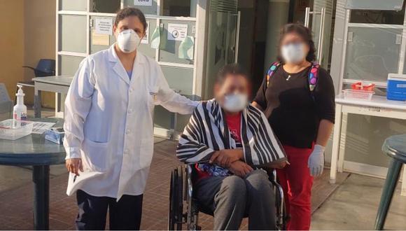 Paciente presentó complicaciones debido a un cuadro de obesidad, pero pudo superar el COVID-19 tras 23 días de lucha. (Foto: Minsa)