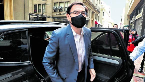 Defensa. Vizcarra podrá dar sus descargos hoy ante el Pleno. (Foto: GEC)