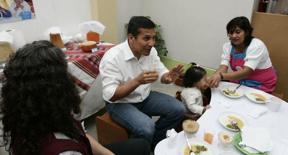 LA MESA ESTÁ SERVIDA. Ollanta Humala espera a las autoridades de Espinar en la mesa de diálogo. (Rochi León)