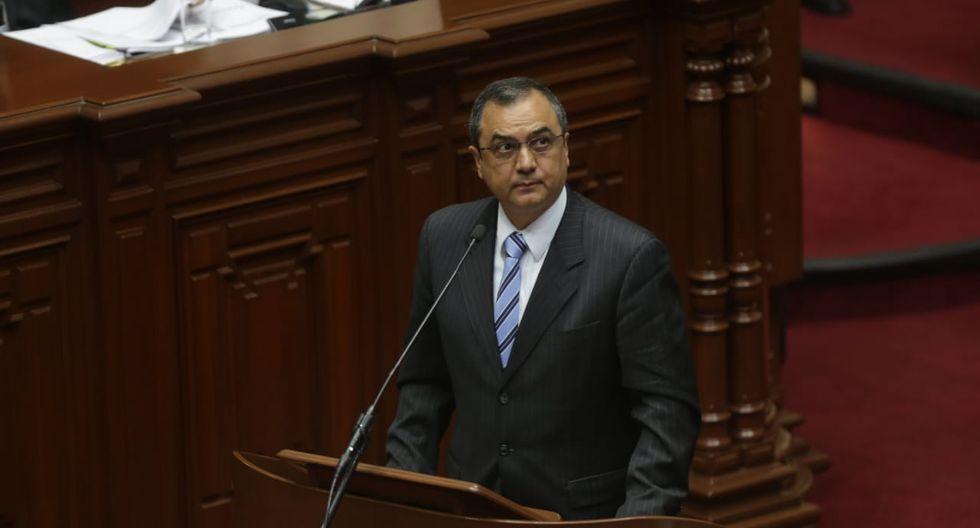 Carlos Oliva, ministro de Economía, sustentó el Presupuesto Público 2019 ante el Congreso. (Foto: GEC)