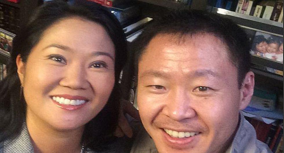 Kenji Fujimori rompe su silencio en Twitter y publica foto con su hermana Keiko. (@KenjiFujimoriH en Twitter)