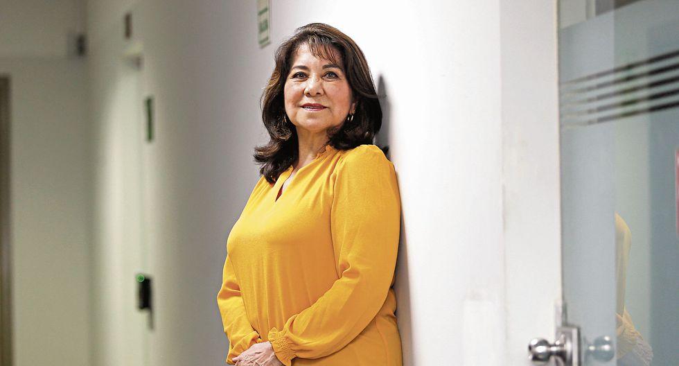 Martha Chávez Cossío. Excongresista fujimorista. (Violeta Ayasta)