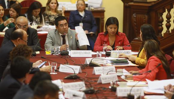 Comisión de Justicia (Foto: GEC/ Juan Ponce)