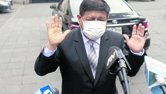 Walter Ayala juró como ministro de Defensa el 30 de julio. (GEC/Renzo Salazar)
