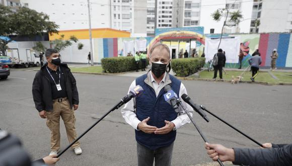 Jorge Muñoz cuestionó que la AMPE otorgara un tratamiento a Pedro Castillo como si fuera presidente electo (GEC).