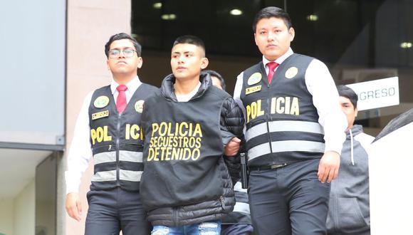 'Bebacho' ha sido detenido en numerosas oportunidades por diversos delitos. (GEC