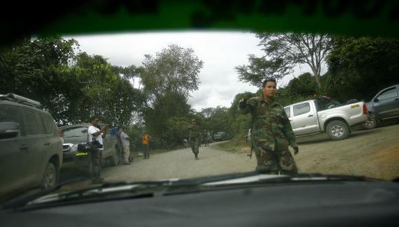 Personal de la PNP y de las FF.AA. continúan con los operativos para capturar a los terroristas. (Alberto Orbegoso)