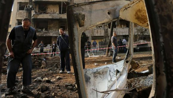 Utilizaron atacantes suicidas. (AFP)