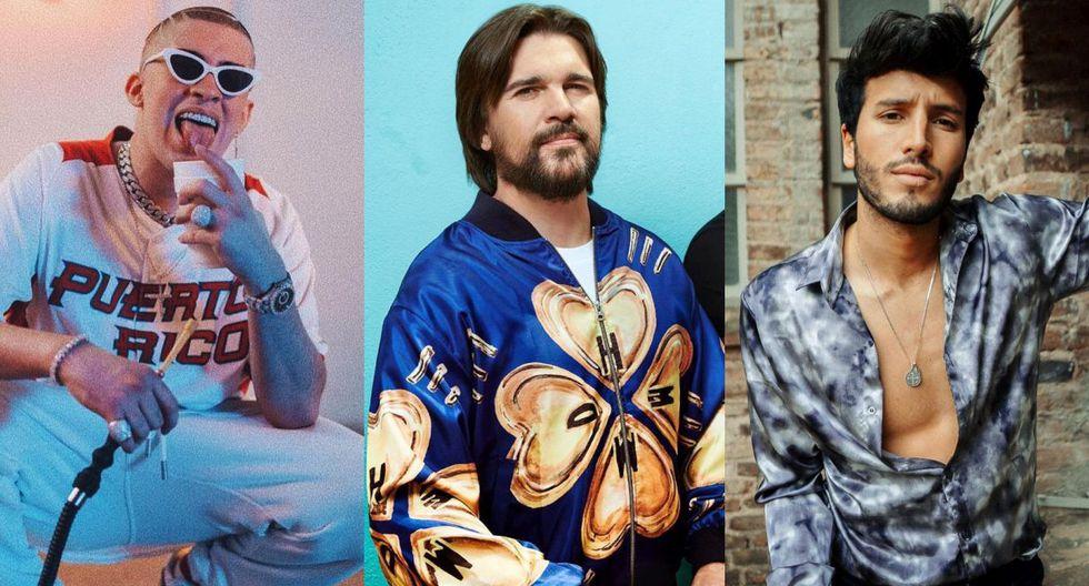 Bad Bunny, Juanes y Sebastián Yatra actuarán en los Latin Grammy 2019. (Foto: Instagram)