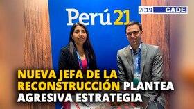 Amalia Moreno: Nueva jefa de la reconstrucción plantea agresiva estrategia [VIDEO]