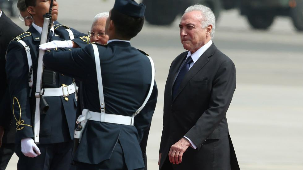 Cumbre de las Américas: Michel Temer, presidente de Brasil, llegó al Perú. (Reuters)