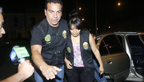 ACABÓ LA PESADILLA. Luego de cinco días, Jacqueline Almengor fue liberada en la Panamericana Sur. (USI)