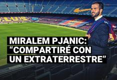 Miralem Pjanic explicó cómo será jugar con Lionel Messi en el Barcelona
