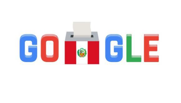 Google cambió su portada principal con un doodle alusivo a las elecciones en nuestro país. (Google)