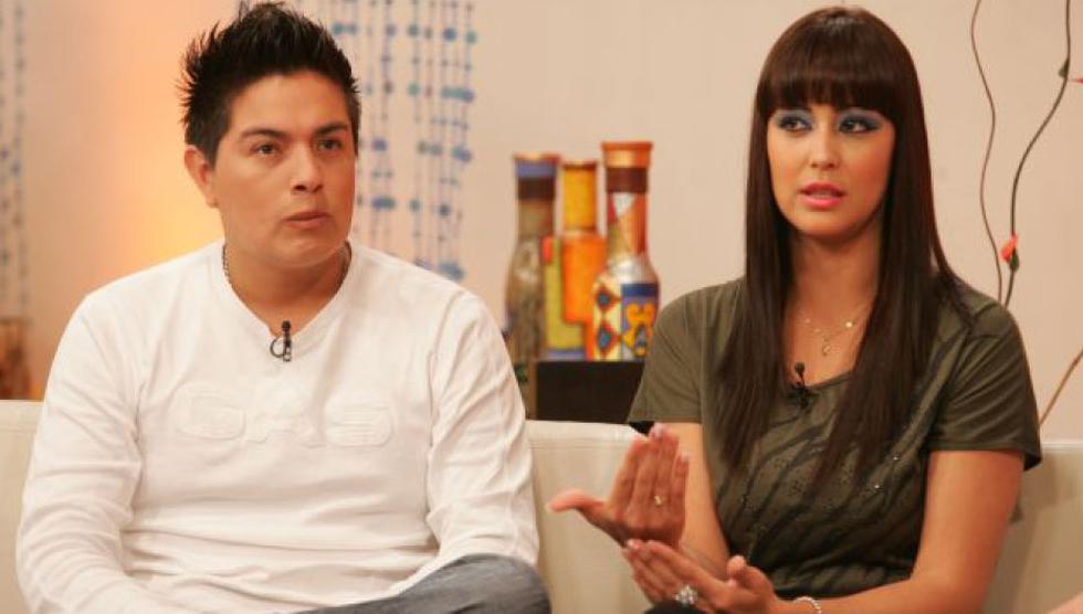 Leonard León y Karla Tarazona tiene dos hijos juntos. (Foto: USI)