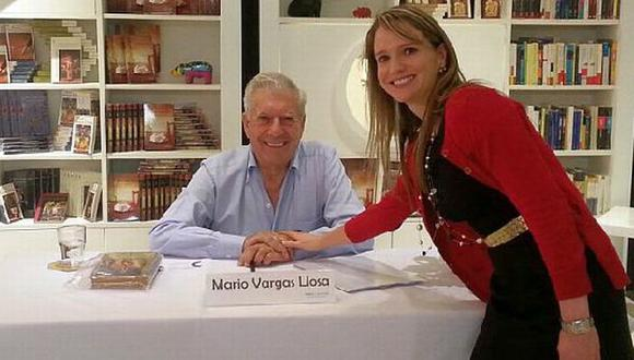 Luciana León negó altercado con Vargas Llosa. (Difusión)