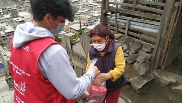 La Red Amachay se creó en marzo del 2020 para promover hábitos saludables y de prevención y protección contra el coronavirus. (Foto: Midis)
