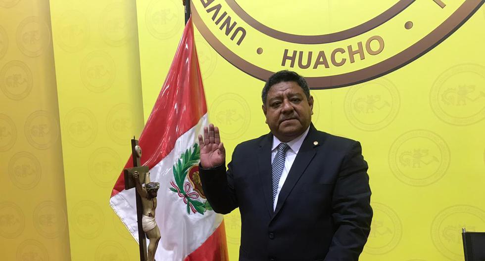 JNE: Jovián Sanjinez juramentó como nuevo miembro del pleno del organismo electoral