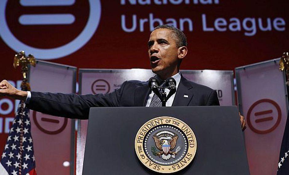 POR CAMPAÑA. Declaración del presidente Barack Obama se debería solo a la coyuntura. (Reuters)