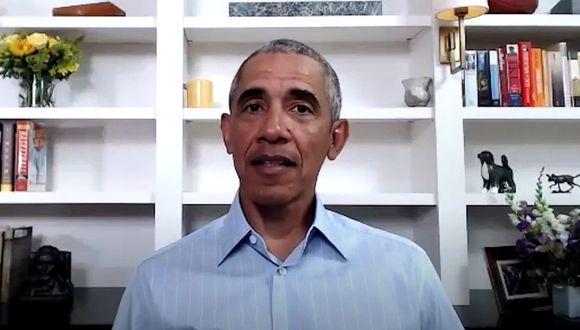 En su primer comentario en video desde la muerte de George Floyd a manos de la policía de Minneapolis el 25 de mayo, Barack Obama también instó a las autoridades estatales y locales a revisar sus políticas sobre el uso de la fuerza. (THE OBAMA FOUNDATION / AFP).