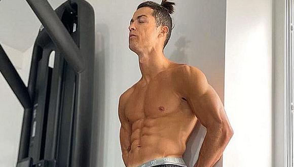 Cristiano Ronaldo compartió 7 ejercicios para mantenerse en forma. (Foto: Instagram)