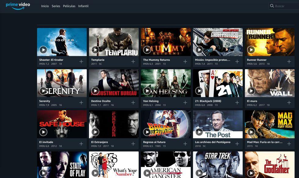 Simples pasos para descargar películas o series en Amazon Prime Video. (Foto: Amazon)