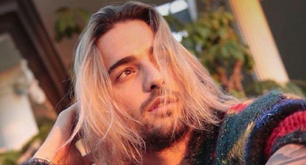 Maluma ahora anda de rubio y lo comparan con Kurt Cobain (Instagram)