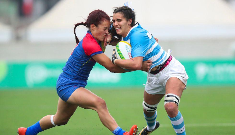 Argentina tiene un panoramas muy complicado en el Rugby 7 femenino. (Foto: Carlos Lezama / Lima 2019)
