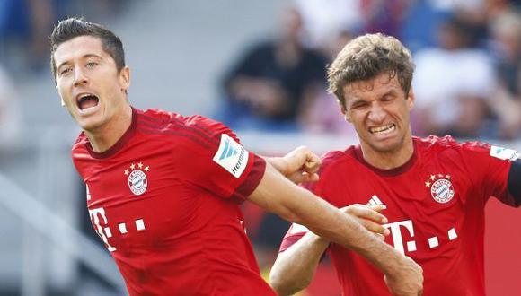 Bayern Munich vs. Hoffenheim: se enfrentan por la fecha 1 de la Bundesliga 2018-19. (Foto: Reuters)