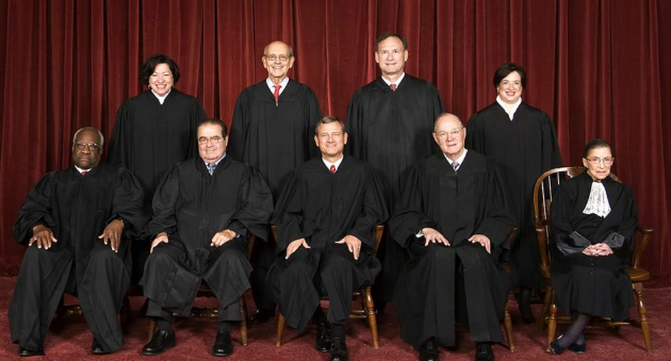 4 miembros de la Corte Suprema de Estados Unidos votaron en contra del matrimonio gay (Gobierno de EEUU)