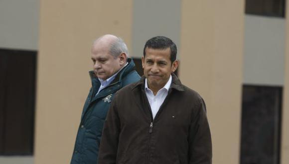 Cateriano dijo que coordina con Humala temas de su sector. (Mario Zapata/Peru21)