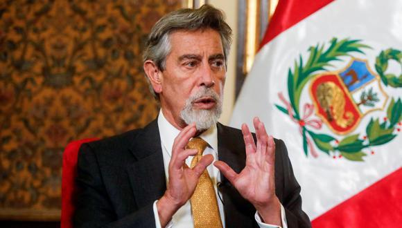 Presidente Francisco Sagasti registra 6 puntos menos de aprobación desde diciembre pasado, según encuesta de Datum (Presidencia).