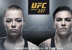 UFC 237 EN VIVO ONLINE Rose Namajunas vs. Jessica Andrade vía Fox Sports por título de peso paja