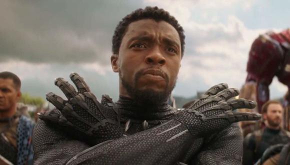 """Chadwick Boseman, la estrella de Marvel Studios que protagonizó la película """"Black Panther"""", falleció el viernes 28 de agosto del 2020 luego de una batalla de cuatro años con el cáncer de colon (Foto: Marvel Studios)"""
