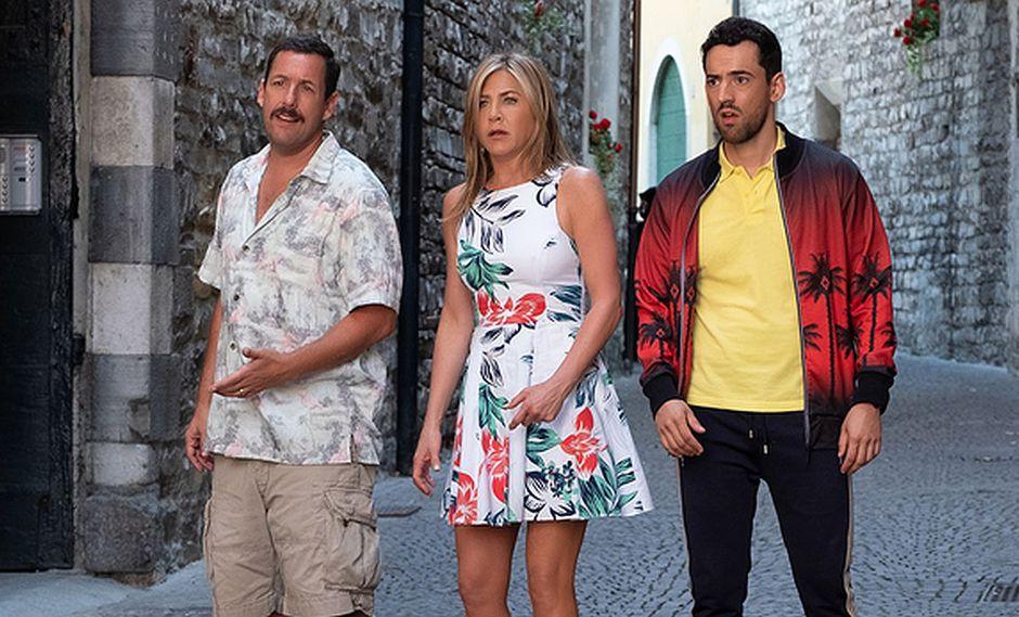 "Jennifer Aniston y Adam Sandler vuelven a trabajar juntos en la película ""Murder Mystery"". (Foto: Netflix)"