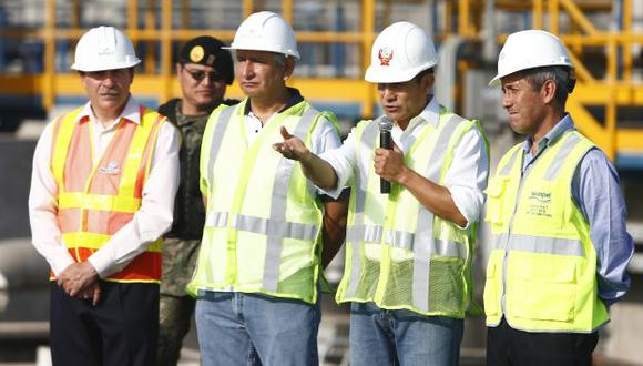 ADVERTENCIA. En el Callao, el jefe de Estado señaló que su gobierno no se coludirá con la corrupción. (Rafael Cornejo)